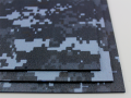 KYDEX / Stärke: 2,0 mm / Navy Digital Camo / Platte ca. 200x300 mm