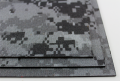 KYDEX / Stärke: 2,0 mm / Urban Digital Camo / Platte ca. 200x300 mm