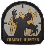 "Klettabzeichen ""Zombie Hunter"" (3D-Patch)"