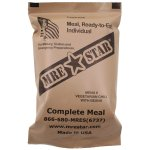 "Notfall-Nahrung, MRE ""Star"" Ready-to-Eat Menü: 6 ""Vegetarian Chili"""
