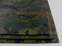 KYDEX / Stärke: 2,0 mm / Forest Digital Camo / Platte ca. 200x300 mm
