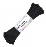 Paracord 550, Typ III, 15 m (50 ft.) - Farbe: Black
