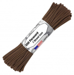 Paracord 550, Typ III, 15 m (50 ft.) - Farbe: Dark Brown