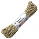 Paracord 550, Typ III, 15 m (50 ft.) - Farbe: Desert Camouflage