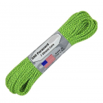 Paracord 550, Typ III, 15 m (50 ft.) - Farbe: Green Spec