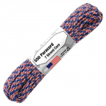 Paracord 550, Typ III, 15 m (50 ft.) - Farbe: Union-Jack