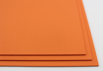 KYDEX / Stärke: 2,0 mm / Hunter Orange / Platte ca. 300x600 mm