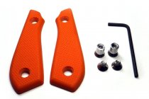 White River Backpacker Pro - G10-Griff Set Orange