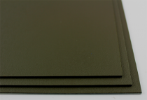KYDEX / Platte ca. 200x300 mm / Olive Drab