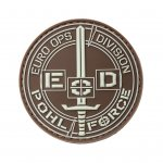 POHL FORCE - 3D Rubber Patch EOD (braun)