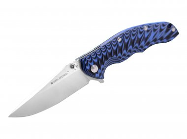 REAL STEEL KNIVES - T101 Thor Sp.Ed. Black and Blue