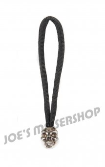 Standard Zipper Fang Skull - Zinn (Steel-Finish)
